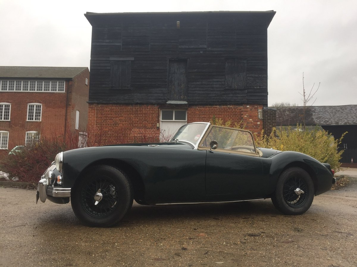 1960 MGA roadster For Sale by Auction (picture 5 of 6)