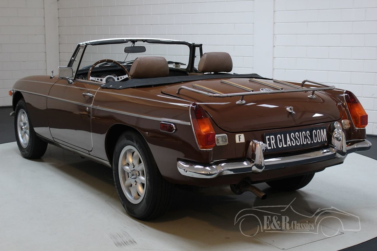 MG B Cabriolet 1980 Chrome bumpers For Sale (picture 5 of 6)