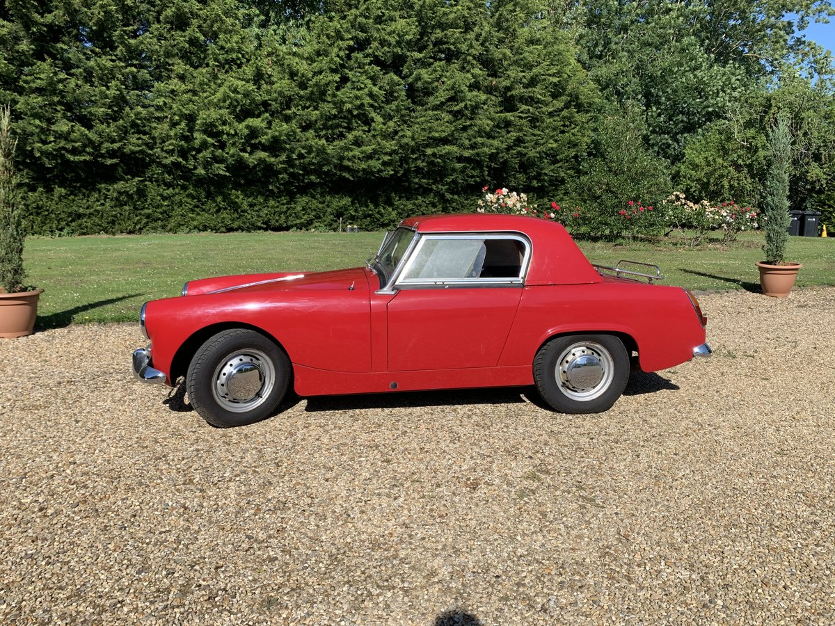 1961 MGB midget  soft/hard top restored For Sale (picture 5 of 6)