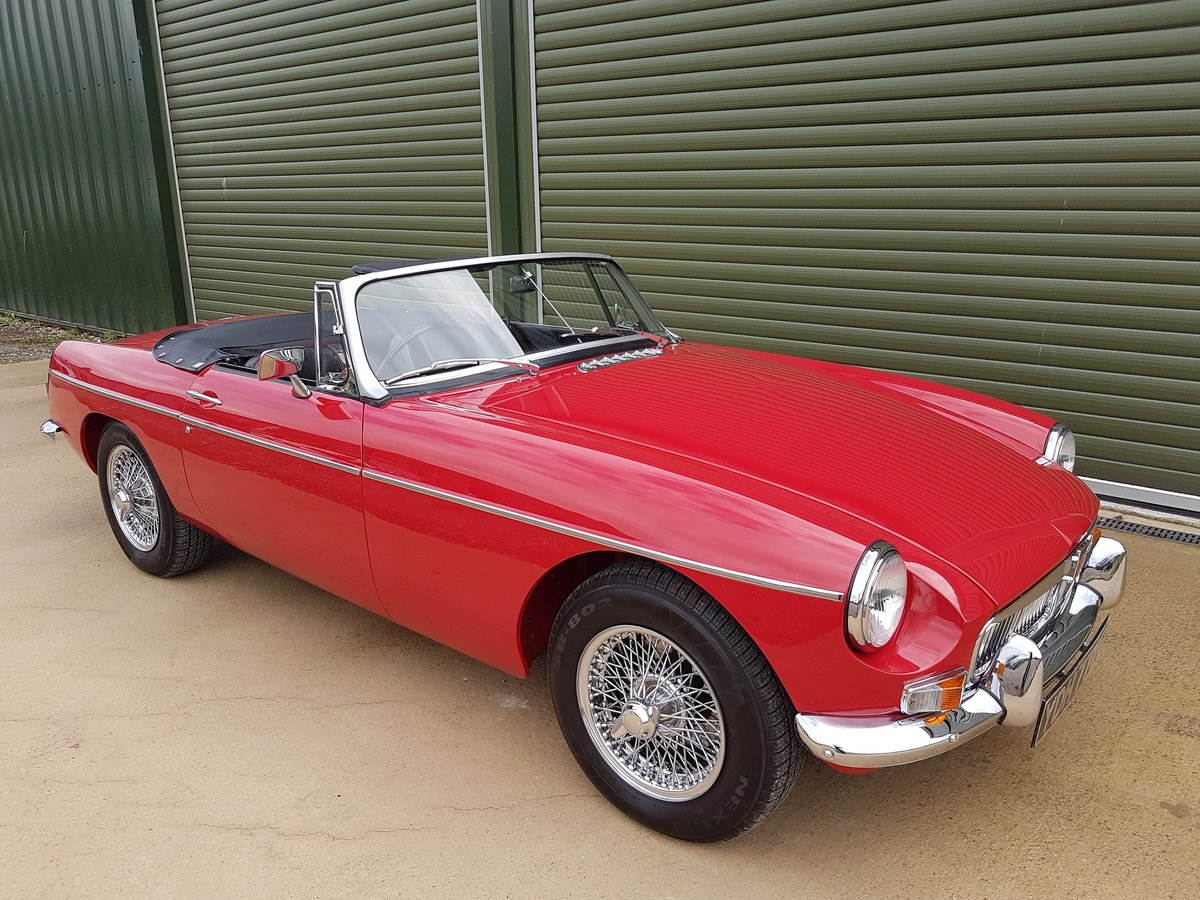 1969 MGB Roadster. Total Restoration /British Heritage Shell SOLD (picture 1 of 6)