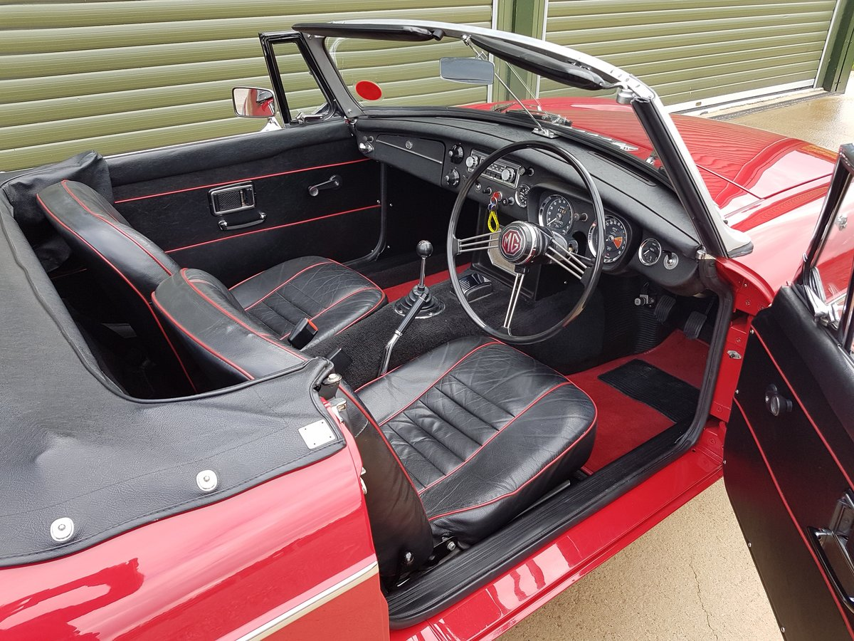 1969 MGB Roadster. Total Restoration /British Heritage Shell SOLD (picture 3 of 6)
