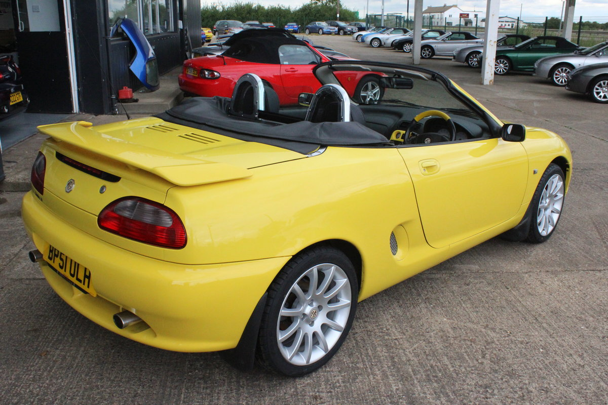 2001 MGF TROPHY 160,LOWMILEAGE,CHROME HOOPS,NEW HEADGASKET,RAC For Sale (picture 3 of 6)