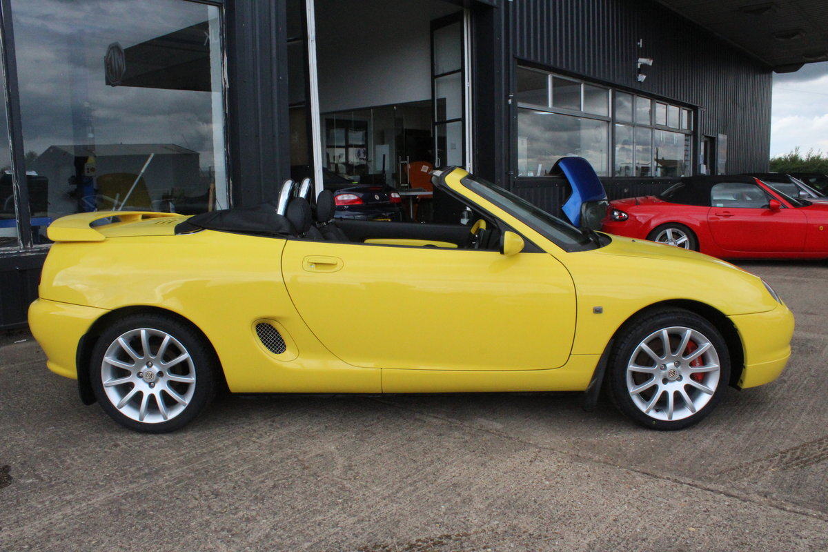 2001 MGF TROPHY 160,LOWMILEAGE,CHROME HOOPS,NEW HEADGASKET,RAC For Sale (picture 5 of 6)
