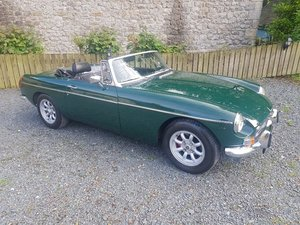 1972 MGB Roadster Manual O/D !972