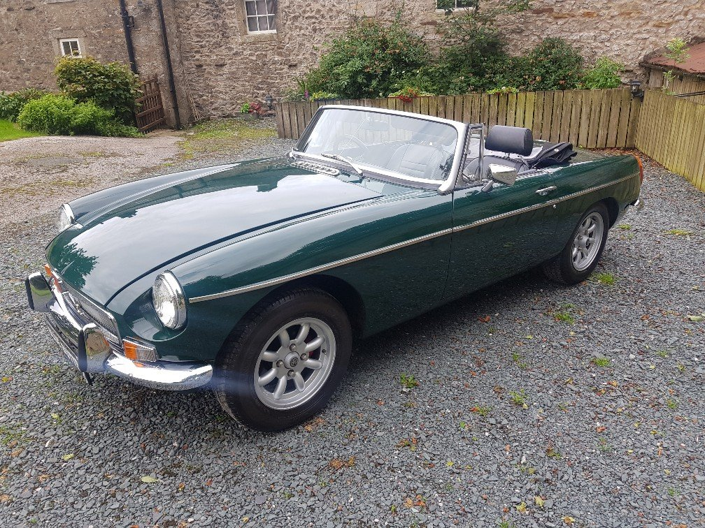 1972 MGB Roadster Manual O/D !972 For Sale (picture 2 of 6)