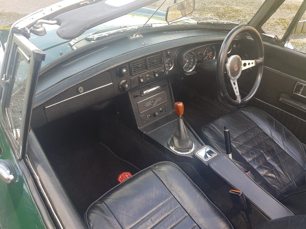 1972 MGB Roadster Manual O/D !972 For Sale (picture 4 of 6)
