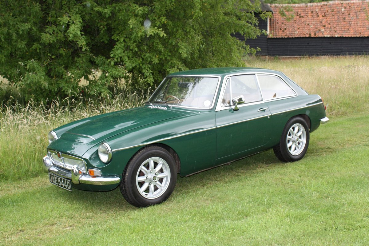 1968 Stunning MGC For Sale (picture 2 of 6)