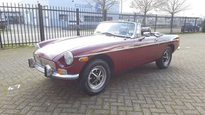 MG B Cabriolet 1978 Damask Red