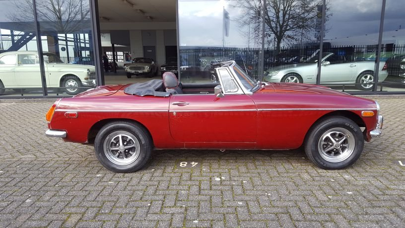 MG B Cabriolet 1978 Damask Red For Sale (picture 5 of 6)