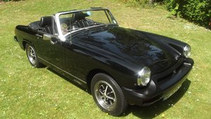 1982 MG MIDGET 1500 SPORTS LTD EDT