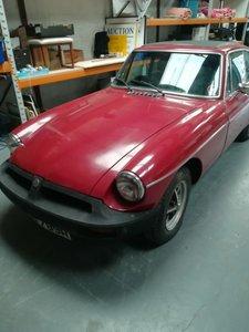 1977 MGB GT - DEPOSIT TAKEN