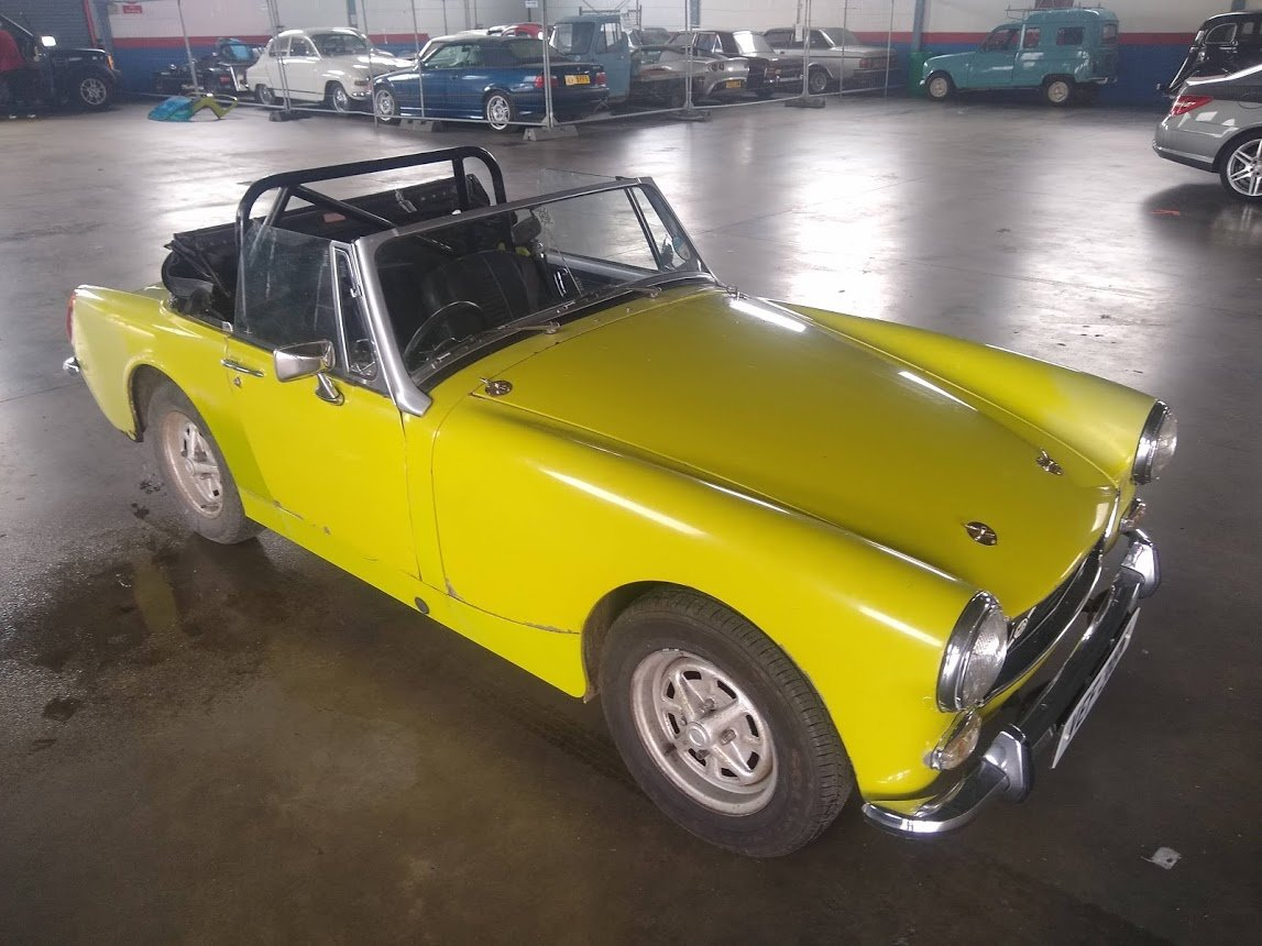 1974 MG Midget for auction 16th - 17th July SOLD by Auction (picture 1 of 6)