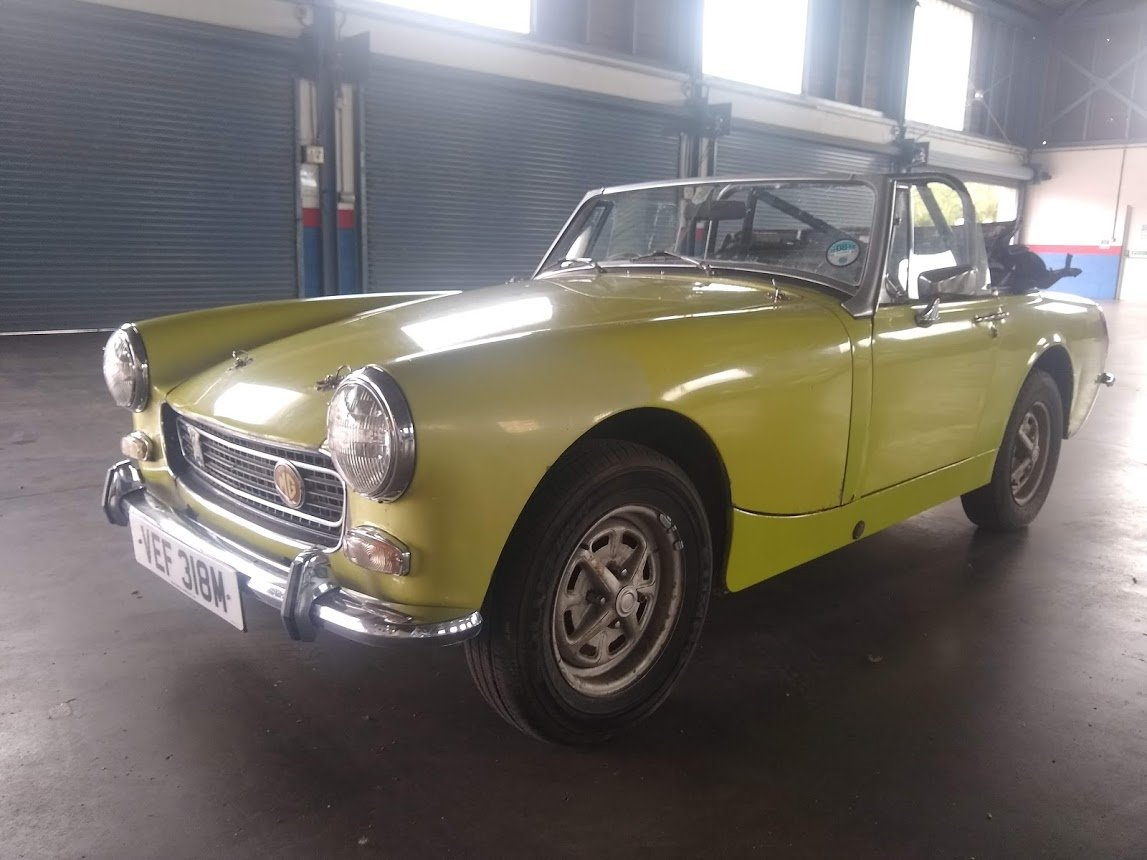 1974 MG Midget for auction 16th - 17th July SOLD by Auction (picture 2 of 6)