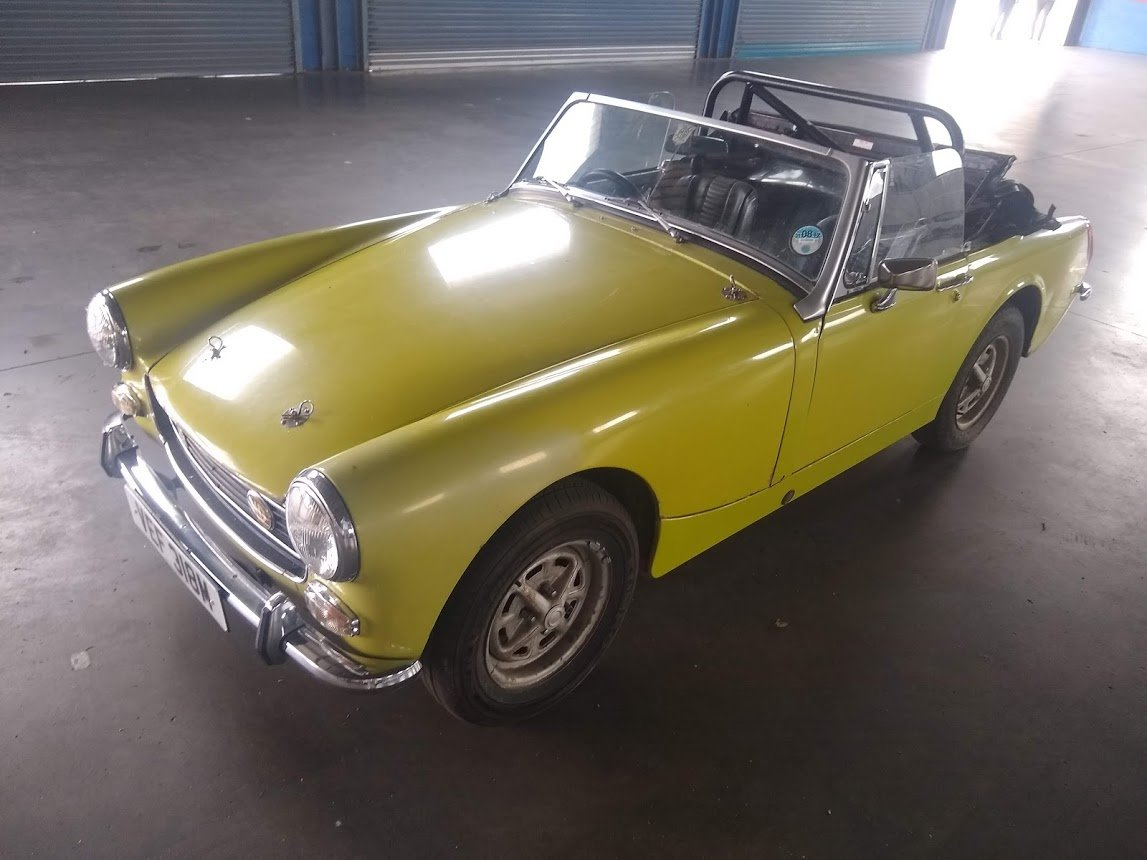 1974 MG Midget for auction 16th - 17th July SOLD by Auction (picture 3 of 6)