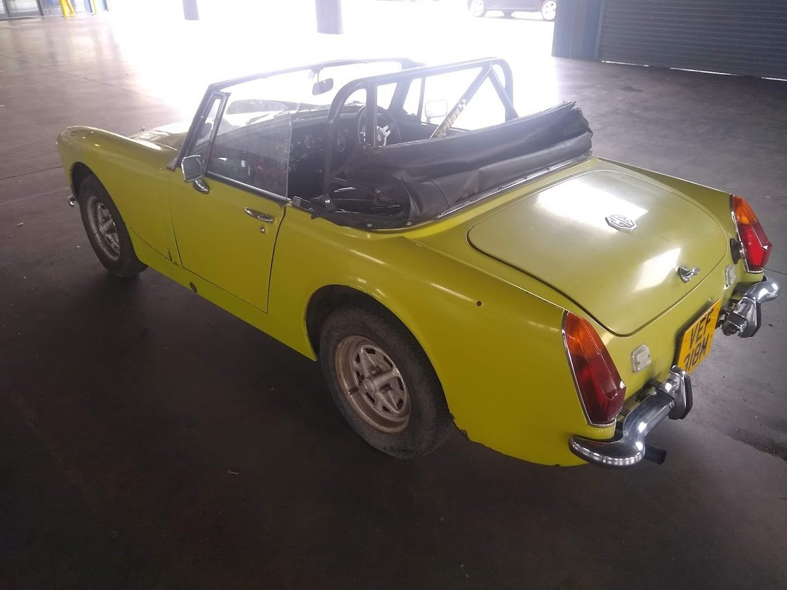 1974 MG Midget for auction 16th - 17th July SOLD by Auction (picture 4 of 6)