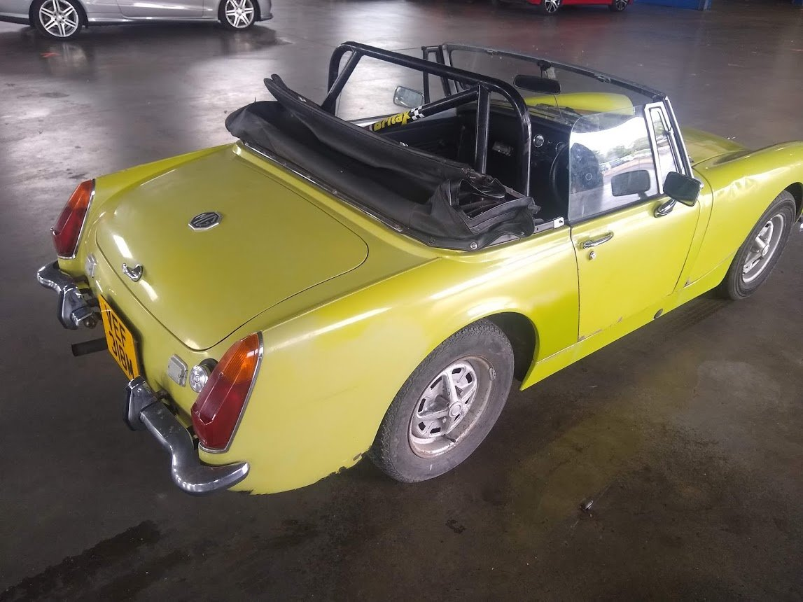 1974 MG Midget for auction 16th - 17th July SOLD by Auction (picture 5 of 6)