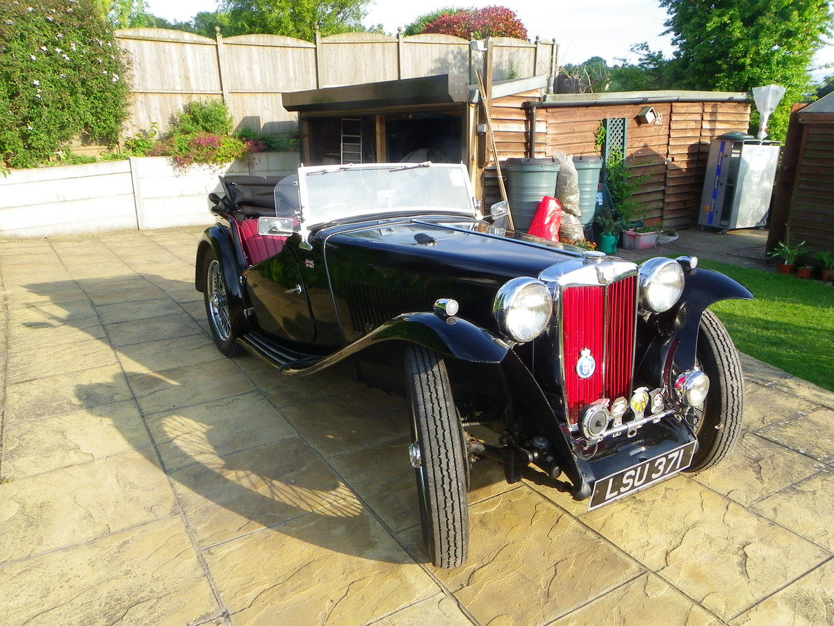 1948 MG TC Midget for auction 16th - 17th July  For Sale by Auction (picture 1 of 6)