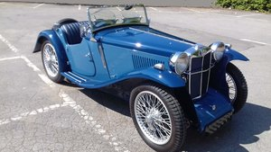 1934 MG P Type Midget to PB Specification