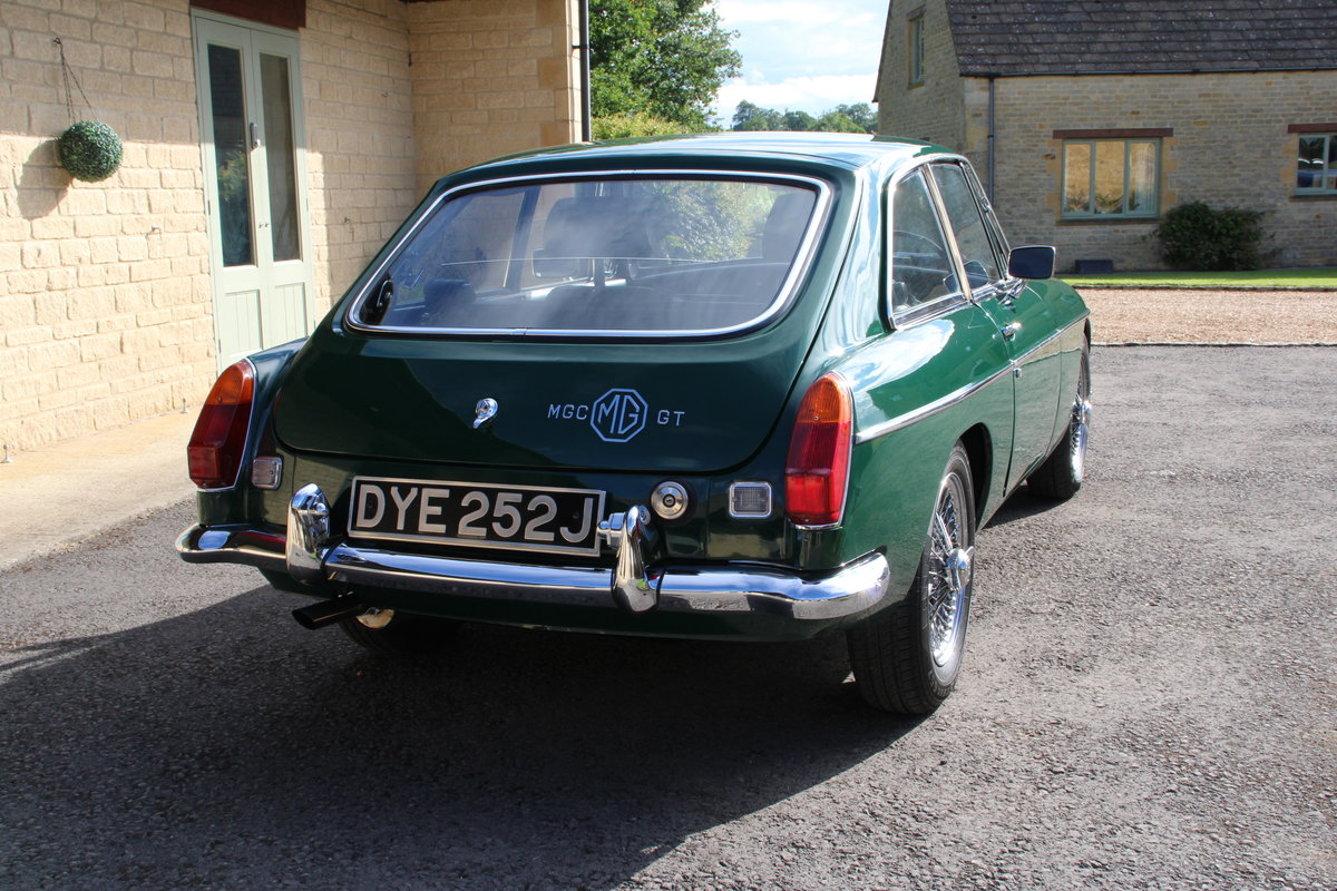 1970 MG C GT For Sale (picture 3 of 22)