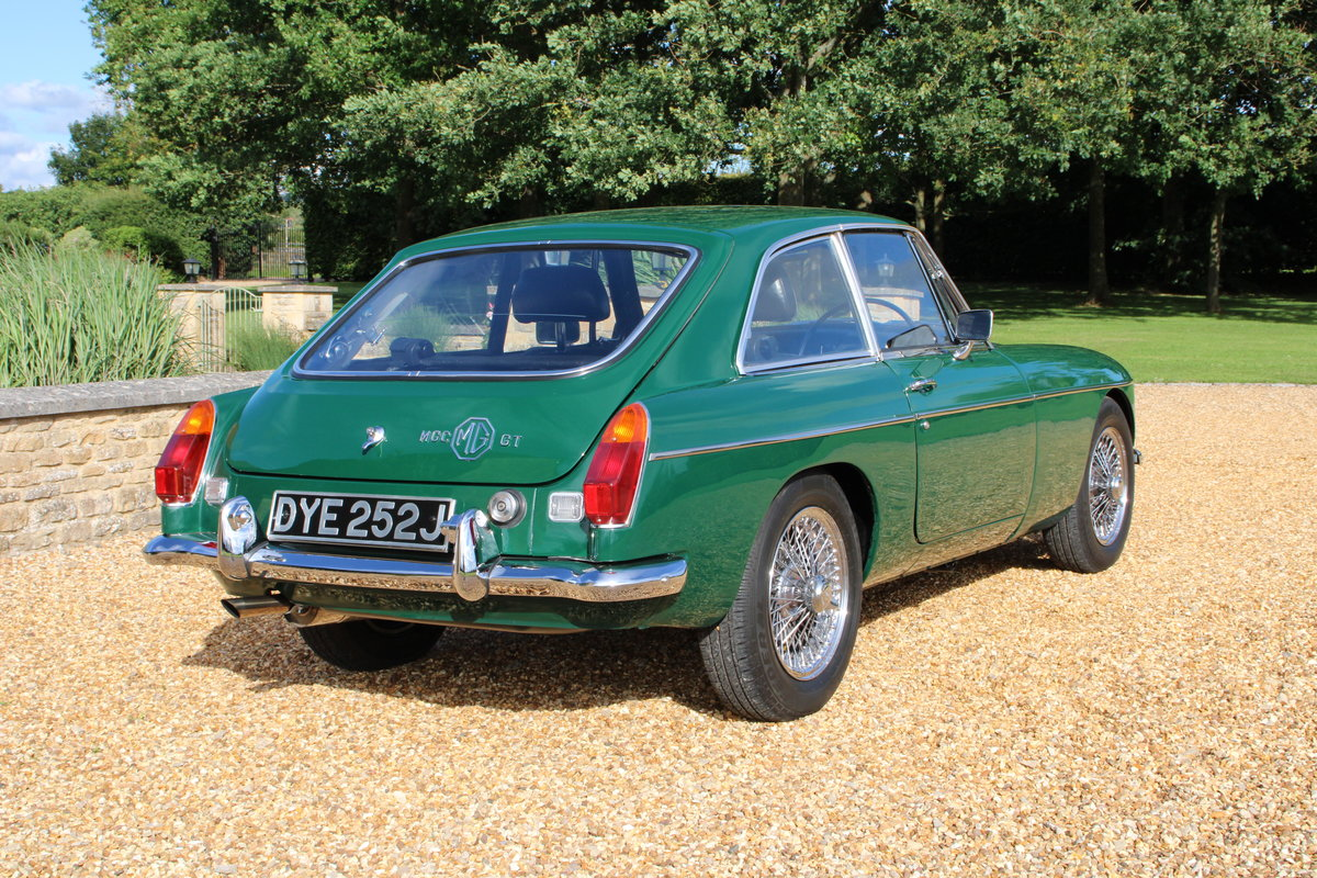 1970 MG C GT For Sale (picture 4 of 22)