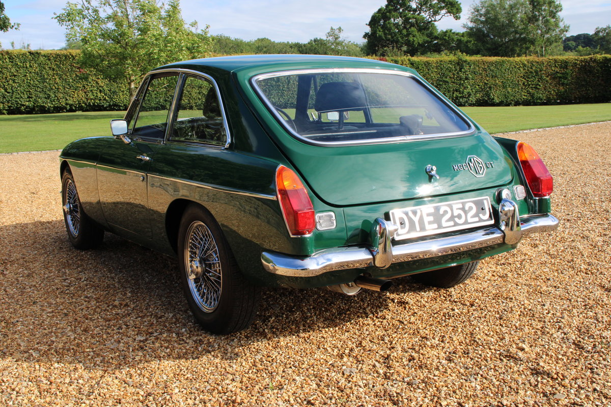 1970 MG C GT For Sale (picture 7 of 22)