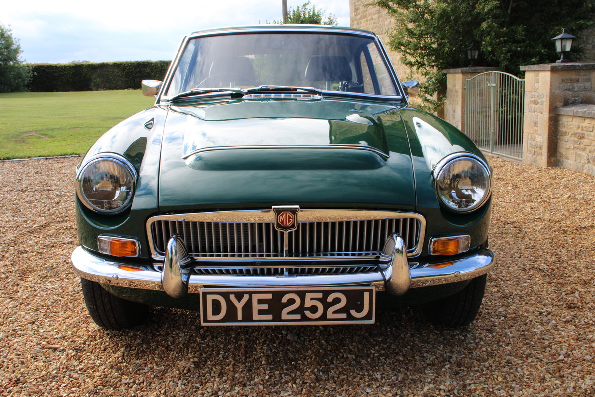 1970 MG C GT For Sale (picture 20 of 22)