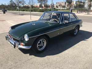 MGB GT Coupe LHD