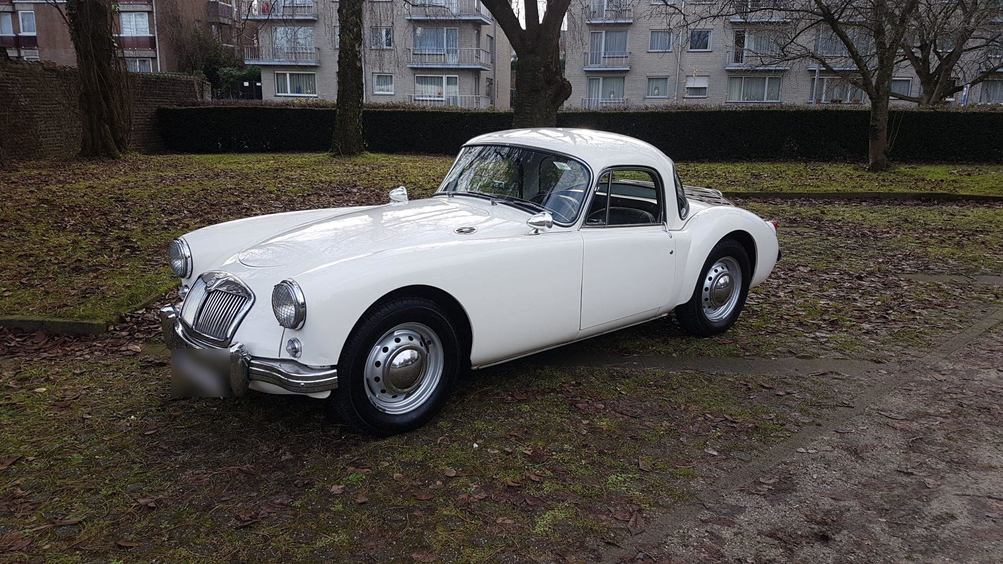 1958 Mg A Coupé For Sale (picture 1 of 6)