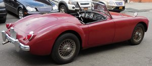 1957 MGA ready for restoration For Sale