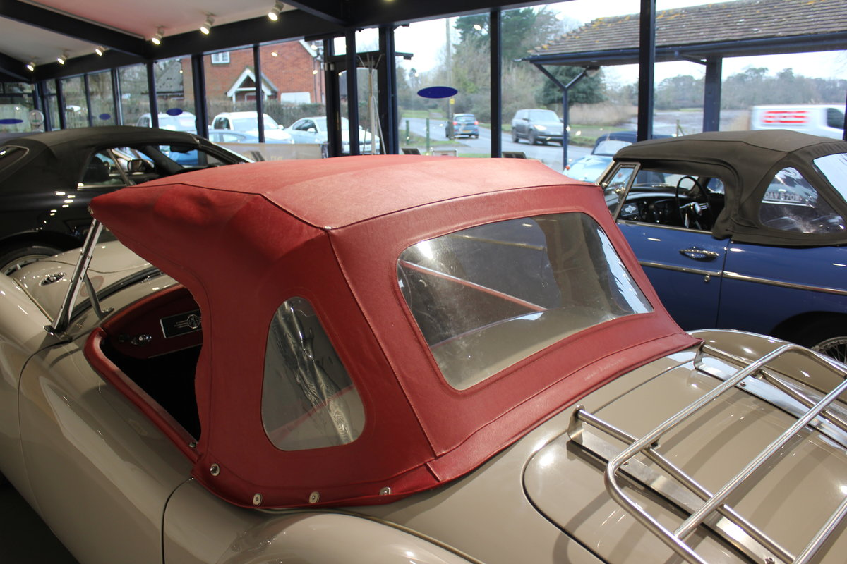 Original UK RHD 1959 MG A 1600 Roadster with great history For Sale (picture 6 of 6)