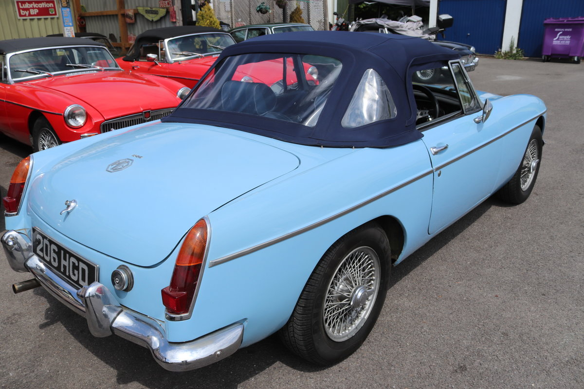 1969 YOUR MG WANTED TO PURCHASE BY MGOC RECOMMENDED DEALER For Sale (picture 5 of 5)