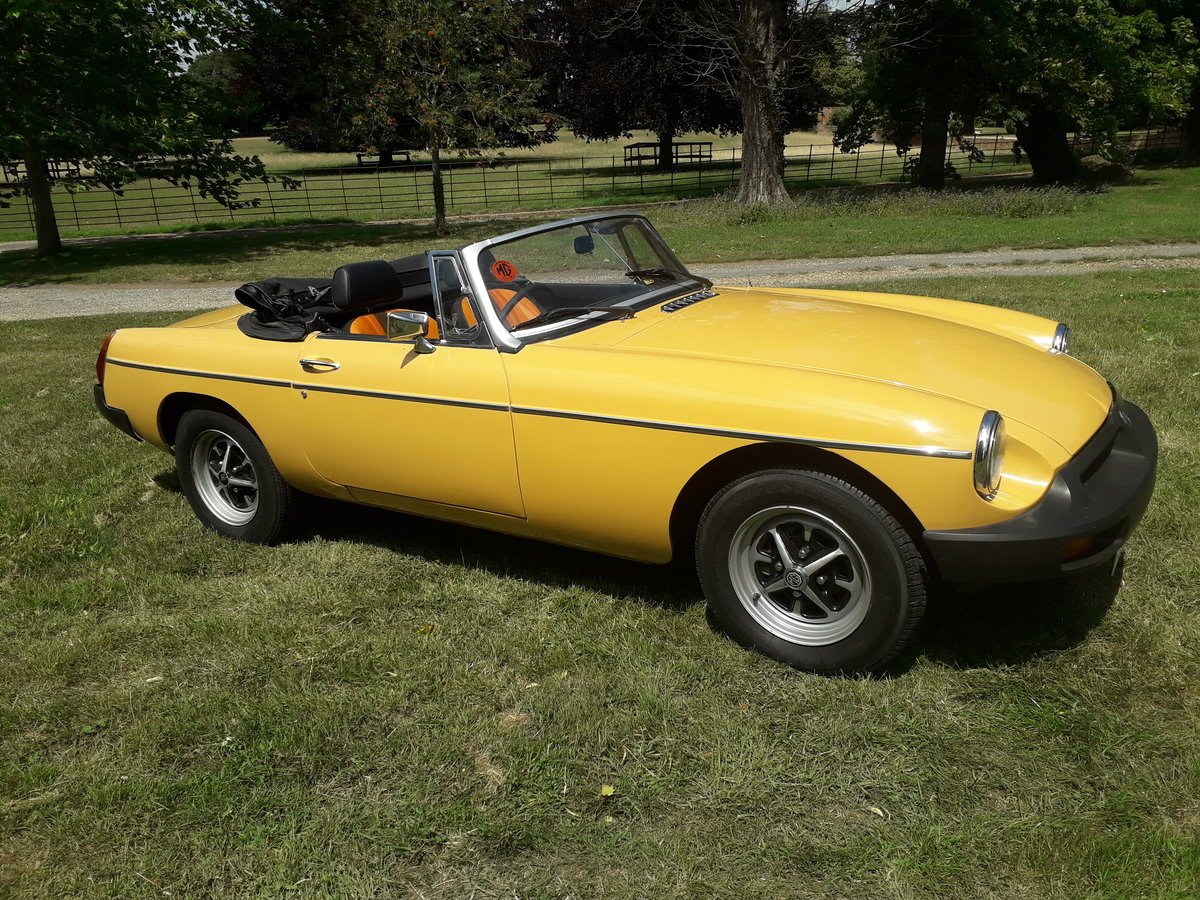 1977 MGB Roadster For Sale (picture 1 of 6)