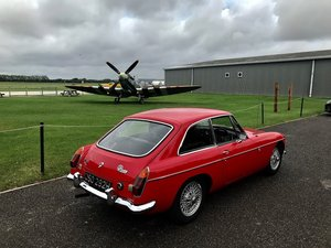 Mgb gt wire wheels overdrive fully restored