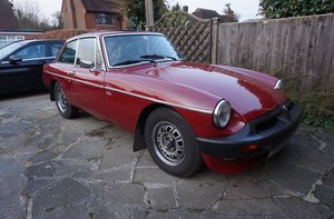 1975 MG B GT V8 For Sale by Auction