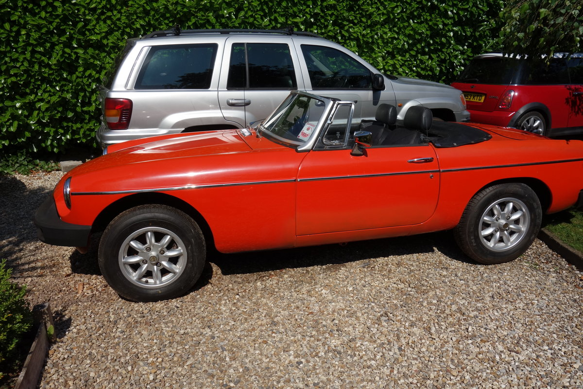 1980 MGB Roadster SOLD (picture 1 of 5)