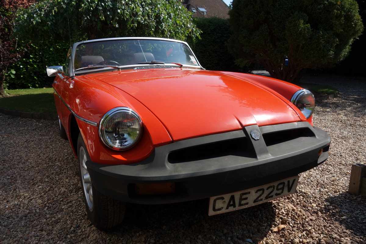 1980 MGB Roadster SOLD (picture 2 of 5)