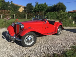 1952 MG TD MK2 (TD/C Competition)