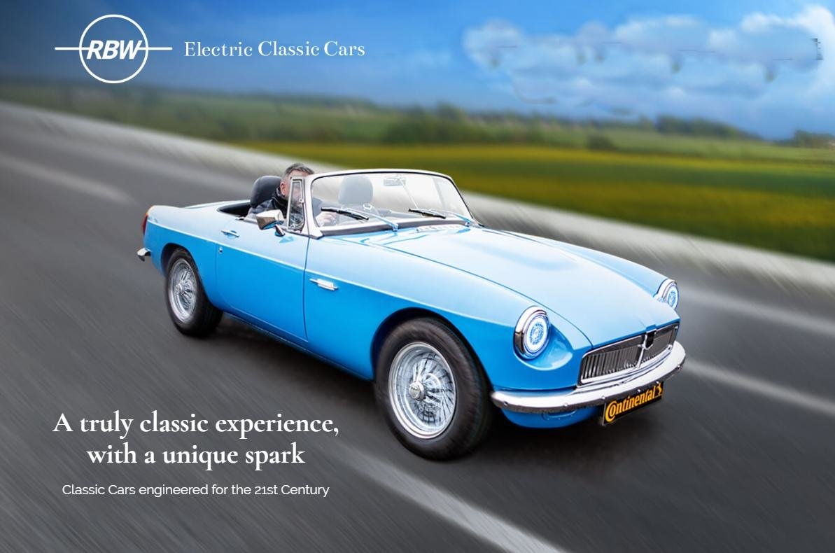 2020 Order your Brand new 20 plate -RBW Electric MG B Recreation  For Sale (picture 2 of 6)