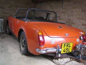 1972 MG Midget 1275 For Sale by Auction