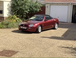 2001 MGF Great Project  or donor car