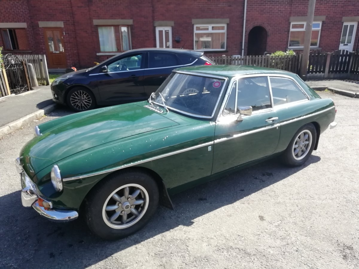 1972 MG B GT For Sale (picture 1 of 6)