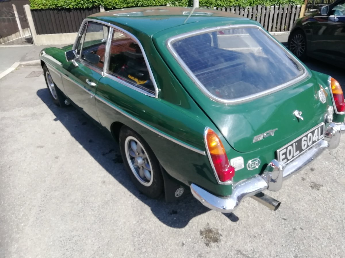 1972 MG B GT For Sale (picture 2 of 6)
