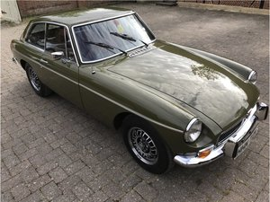 MG BGT Just  80,000,m, low owners fully restored