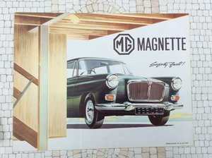 Picture of MG Magnette Sales Brochure Excellent condition