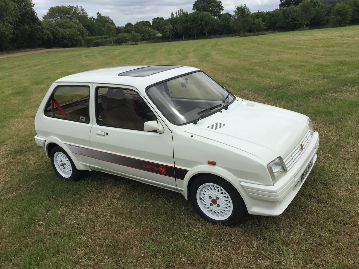 1987 Smart MG Metro For Sale (picture 1 of 6)