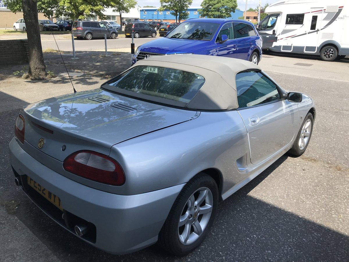 2002 MG TF 135   For Sale (picture 1 of 6)