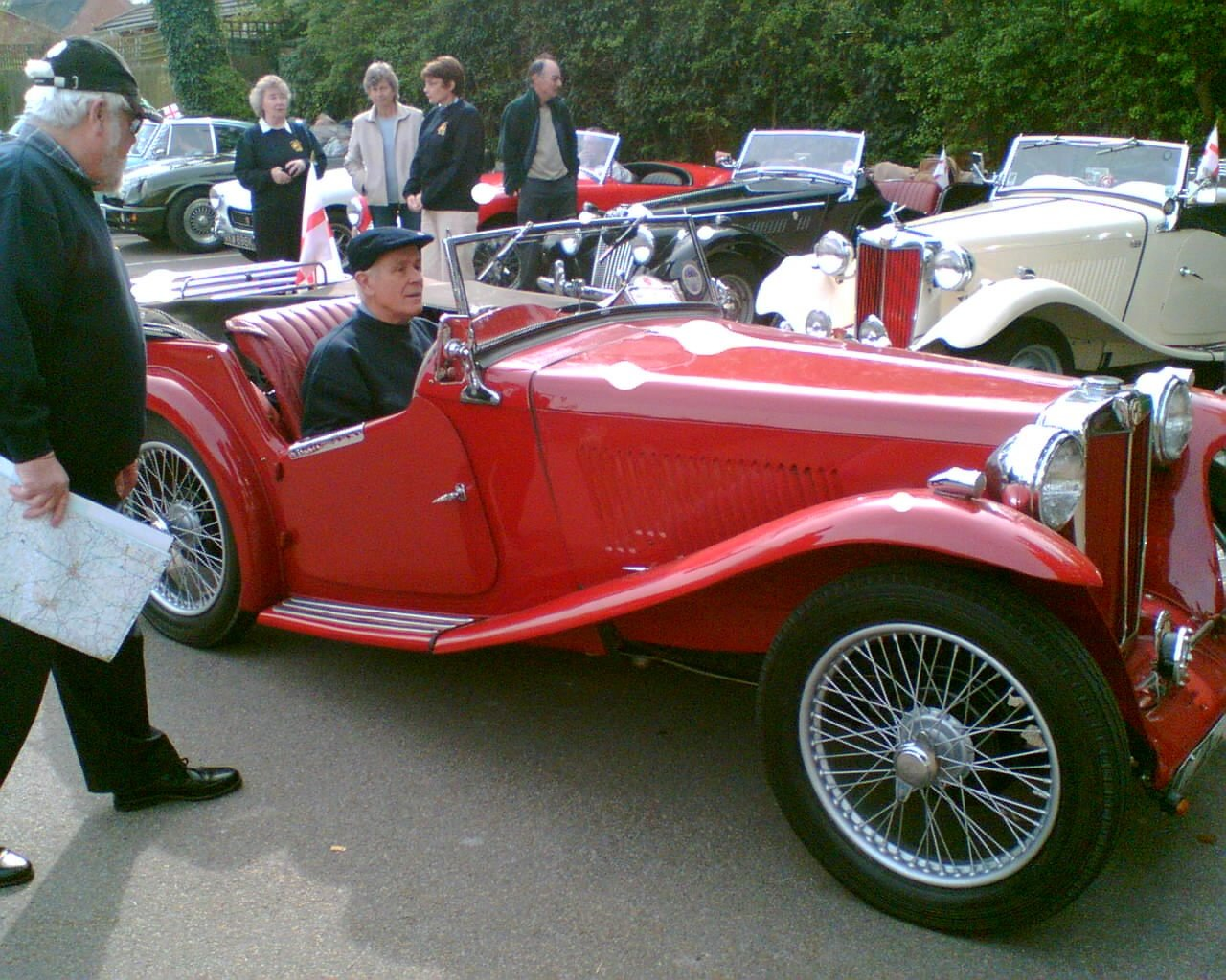 1938 MG TA Convertible SOLD (picture 3 of 4)