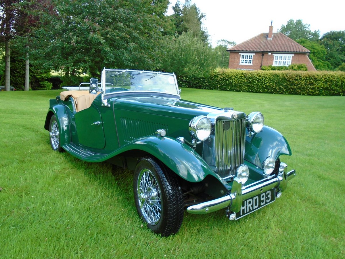 1953 MG TD Supercharged, 5 Speed  SOLD (picture 1 of 6)