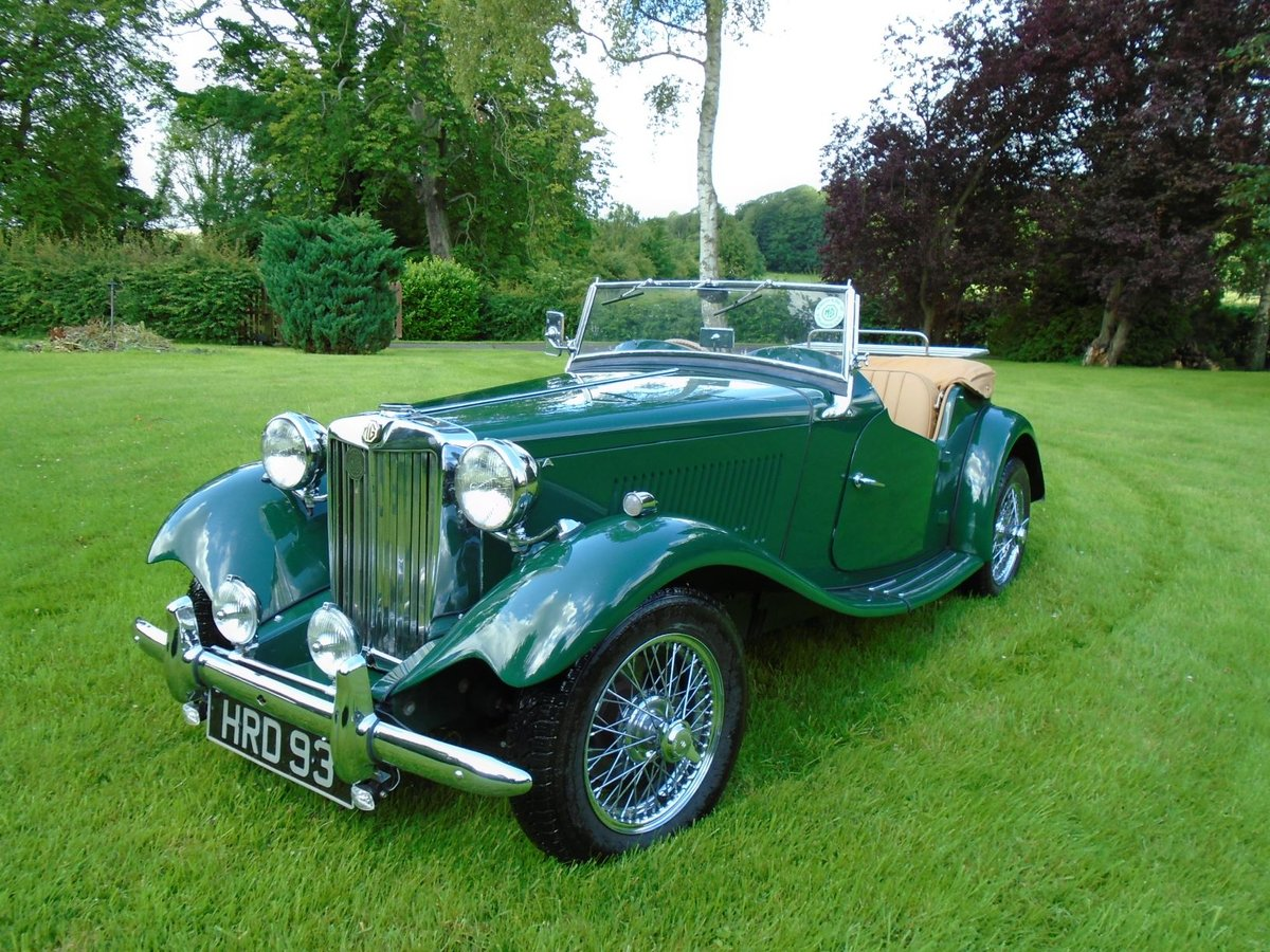 1953 MG TD Supercharged, 5 Speed  SOLD (picture 2 of 6)