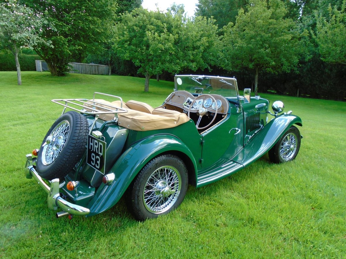 1953 MG TD Supercharged, 5 Speed  SOLD (picture 3 of 6)